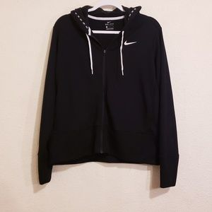 Nike Black Full Zip Hoodie Sweater